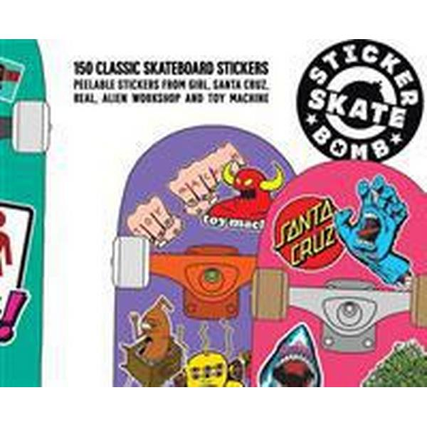 Stickerbomb Skateboard: 150 Classic Skateboard Stickers (Häftad, 2015)