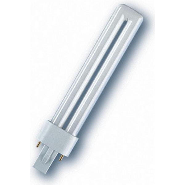 osram dulux s g23 9w 830 energy efficient lamps 9w g23 hitta b sta pris recensioner och. Black Bedroom Furniture Sets. Home Design Ideas