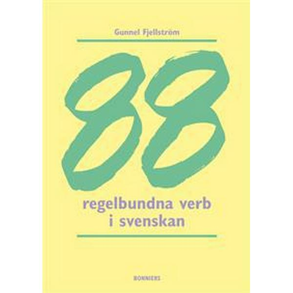 88 regelbundna verb (Häftad, 2008)