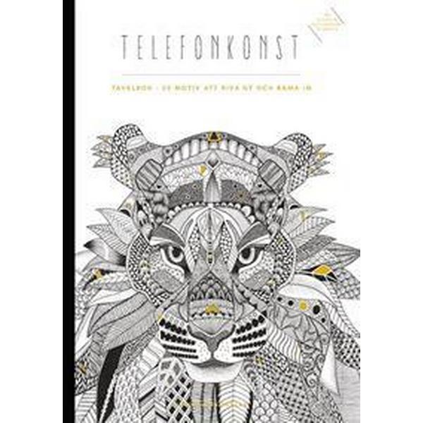 Telefonkonst - Tavelbok: 20 ark att riva ut och rama in (Häftad, 2016)