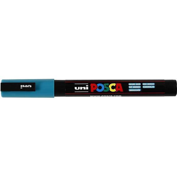 Uni Posca Marker 0.9-1.3mm PC-3M Emerald Green