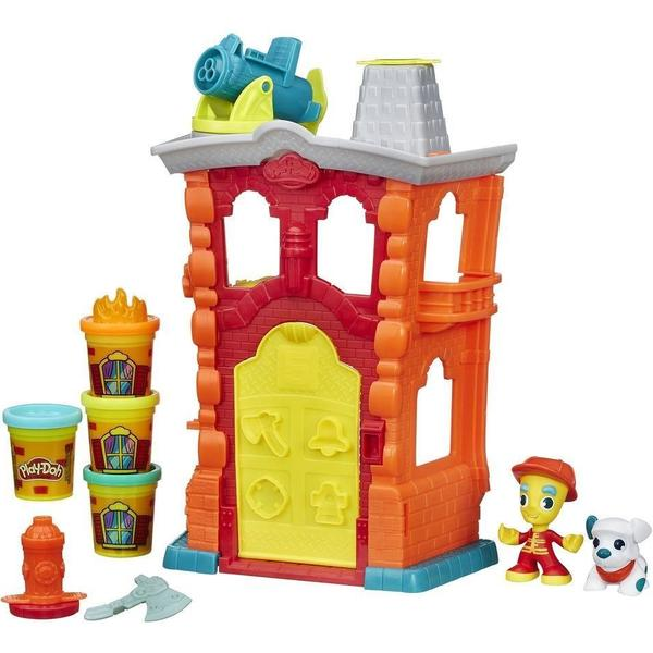 Play-Doh Fire House