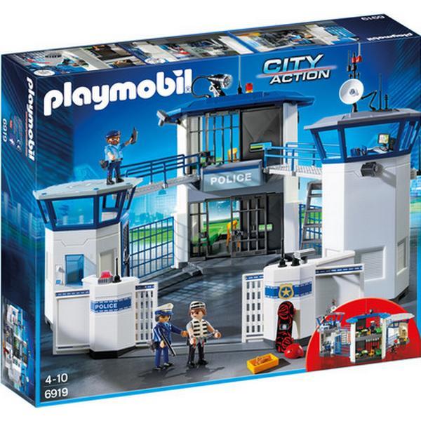 Playmobil Politistation Med Fængsel 6919