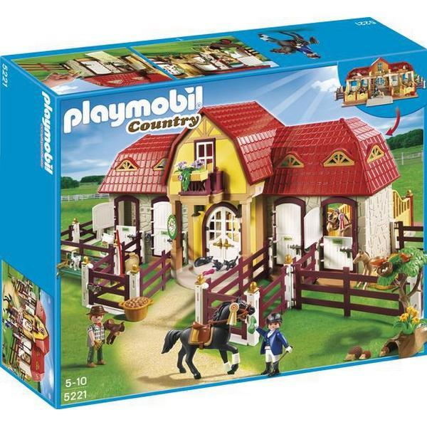 Playmobil Stor Rideskole 5221
