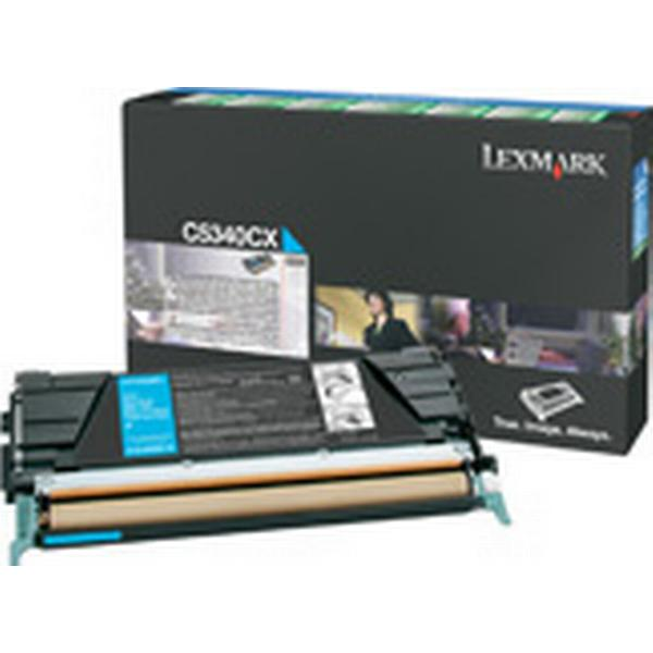 Lexmark (C5340CX) Original Toner Cyan 7000 Sidor