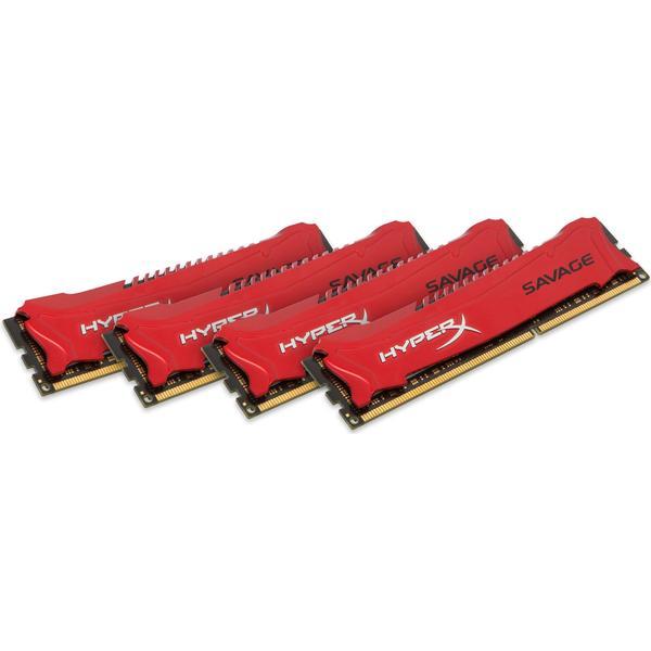HyperX Savage DDR3 1600MHz 4x8GB (HX316C9SRK4/32)