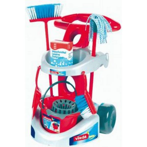 Klein Vileda Cleaning Trolley with Accessories 6721