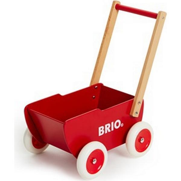 Brio Træ dukkevogn 31370