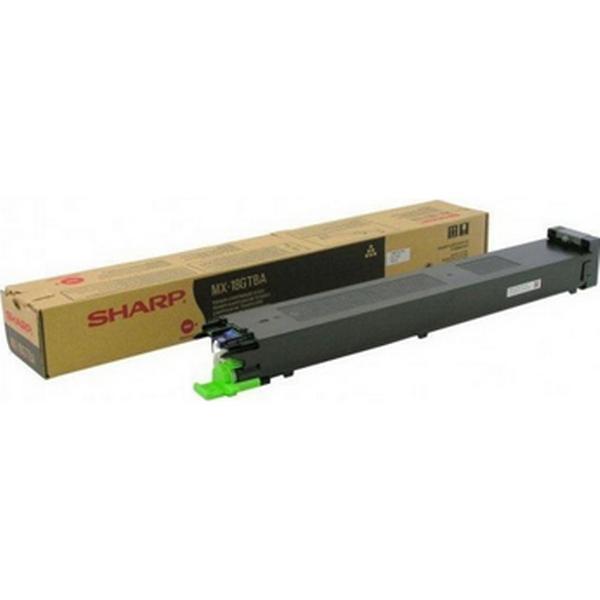 Sharp (MX18GTBA) Original Toner Svart 13200 Sidor