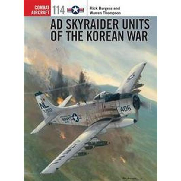 Ad Skyraider Units of the Korean War (Pocket, 2016)
