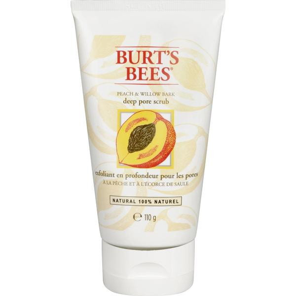 Burt's Bees Peach and Willow Bark Deep Pore Scrub 110g