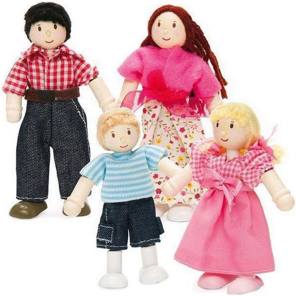 Le Toy Van Dukkefamilie Til Dukkehus
