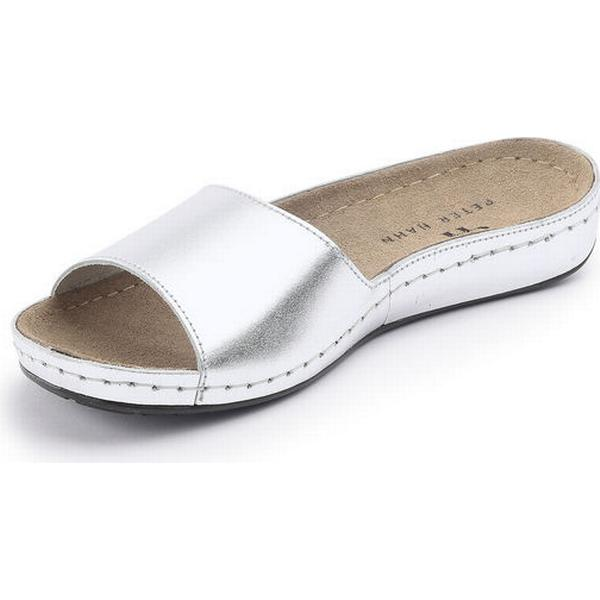 Mules 100% in 100% Mules leather Peter Hahn silver 099341