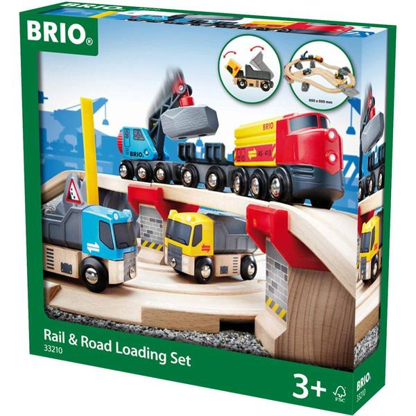 Brio Rail & Road Loading Set 33210