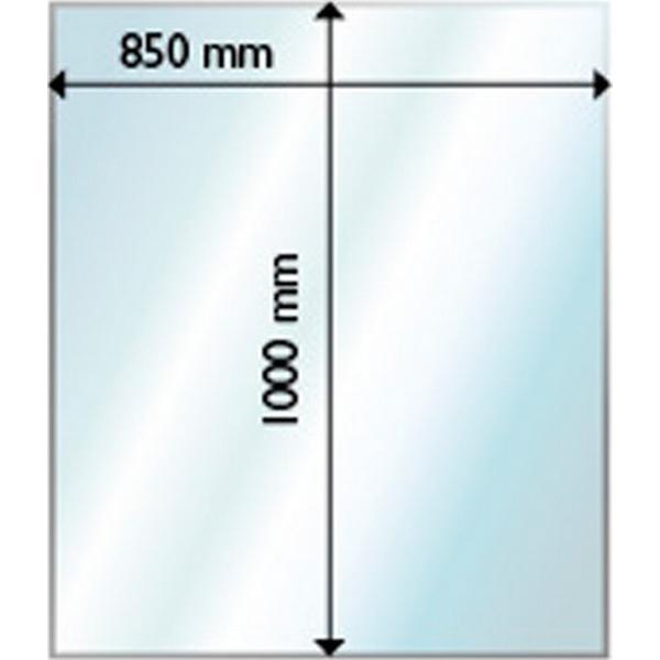 Aduro Glass Floor Hearth Rectangle 6mm 85X100cm