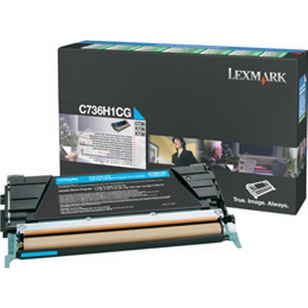 Lexmark (C736H1CG) Original Toner Cyan 25000 Sidor