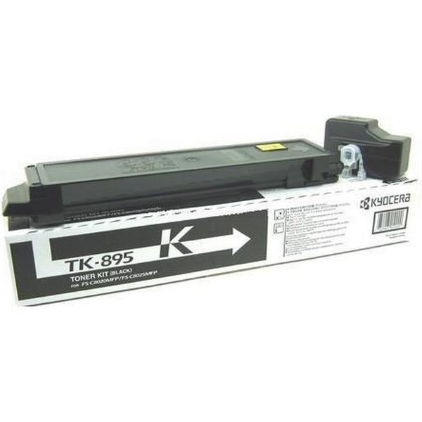 Kyocera (TK-895K) Original Toner Svart 12000 Sidor