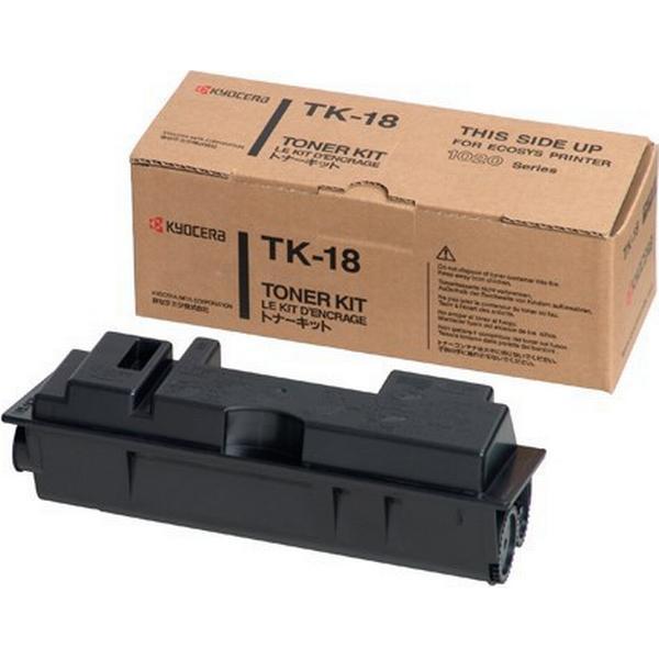 Kyocera (TK-18) Original Toner Svart 15000 Sidor