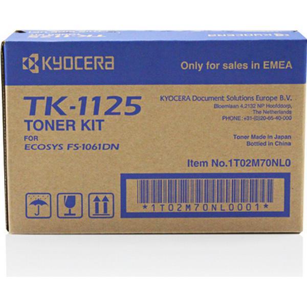 Kyocera (TK-1125) Original Toner Svart 2100 Sidor