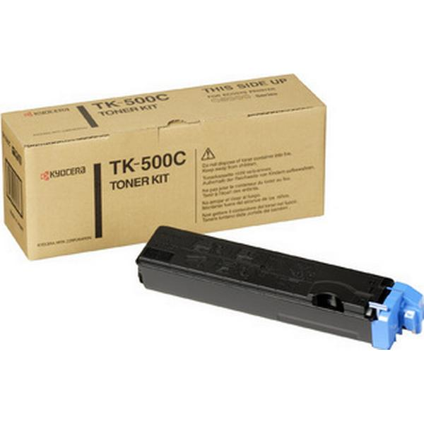 Kyocera (TK-500C) Original Toner Cyan 8000 Sidor