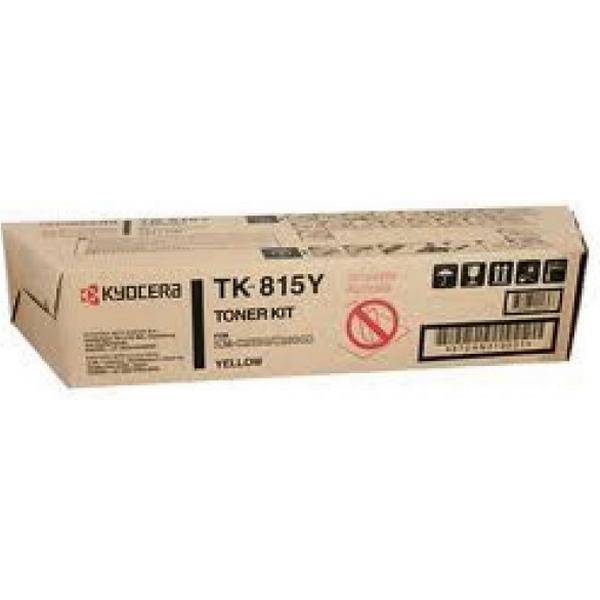 Kyocera (TK-815Y) Original Toner Gul 20000 Sidor