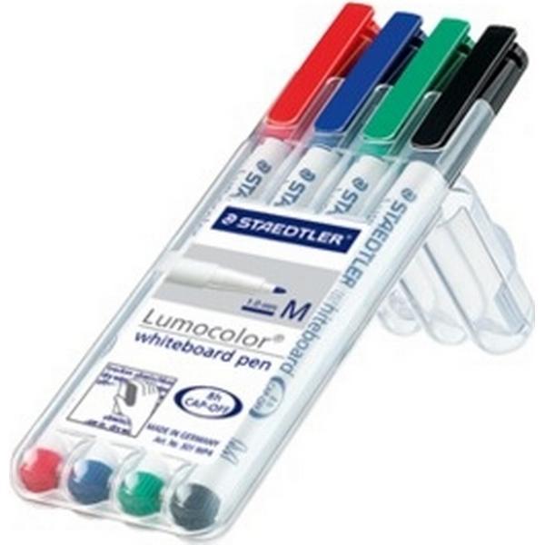 Staedtler Lumocolor Whiteboard Marker 4-pack