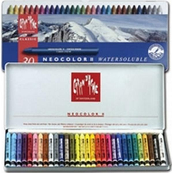 Caran d'Ache Neocolor II Water Soluble Pastel 30-pack
