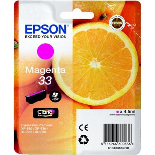 Epson (C13T33434010) Original Bläckpatron Magenta 4.5 ml