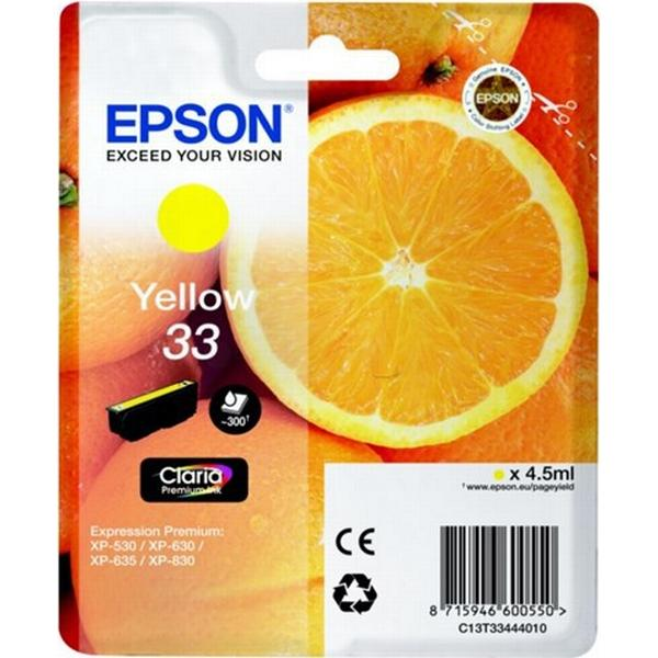 Epson (C13T33444010) Original Bläckpatron Gul 4.5 ml
