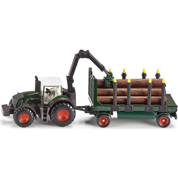 Siku Traktor med Forestry Trailer 1861