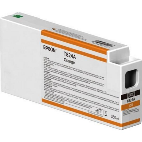 Epson (C13T824A00) Original Bläckpatron Orange 350 ml