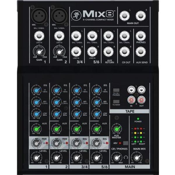 Mix8 Mackie