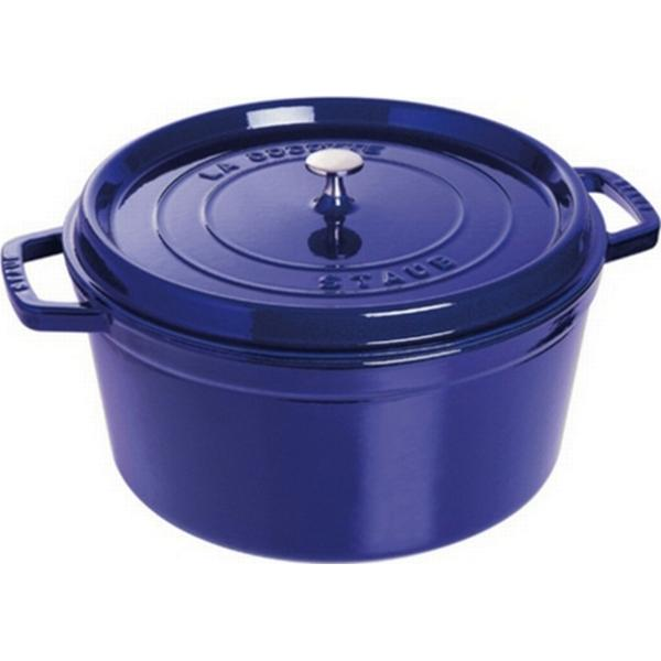 Staub Round Casserole Other Pots with lid 24cm