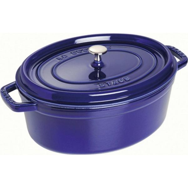 Staub Oval Casserole Other Pots with lid 29cm