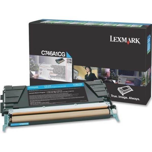 Lexmark (C746A1CG) Original Toner Cyan 70000 Sidor