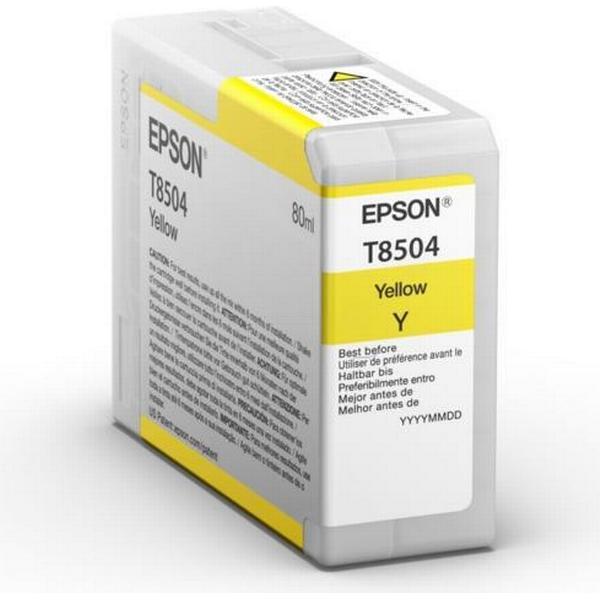 Epson (C13T850400) Original Bläckpatron Gul 80 ml