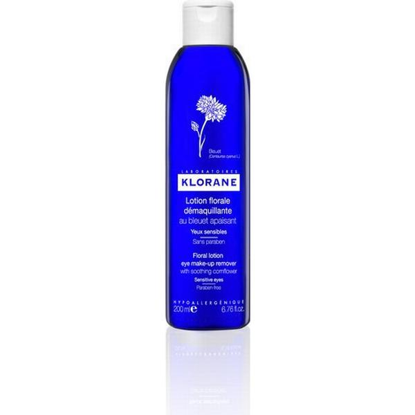 Klorane Eye Makeup Remover with Soothing Cornflower 200ml