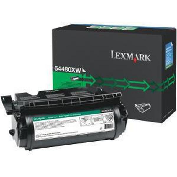 Lexmark (64480XW) Original Toner Svart 32000 Sidor