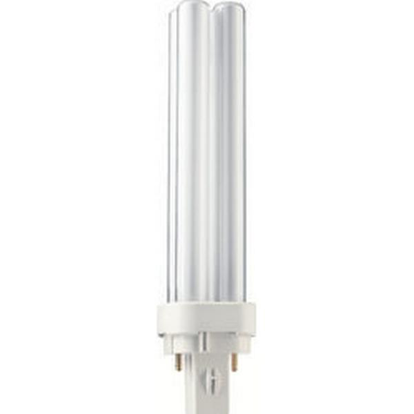 Philips Master PL-C Fluorescent Lamp 18W G24D-2 840