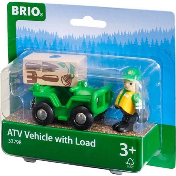 Brio Træjernbane ATV med Last 33798