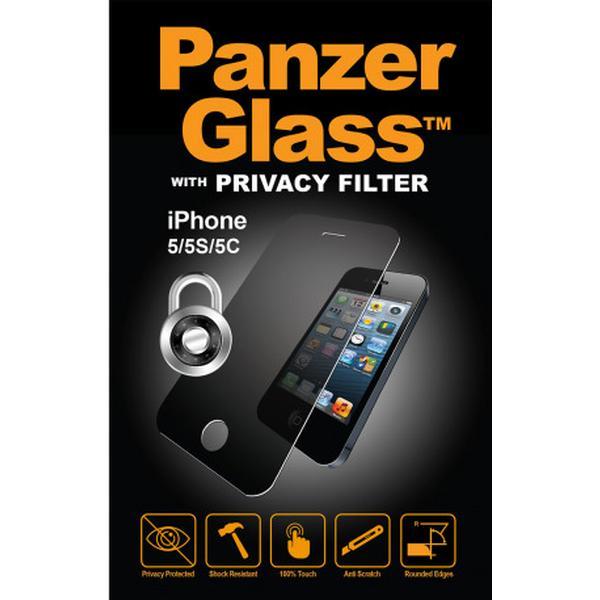 PanzerGlass Privacy Skærmbeskyttelse (iPhone 5/5S/5C/SE)