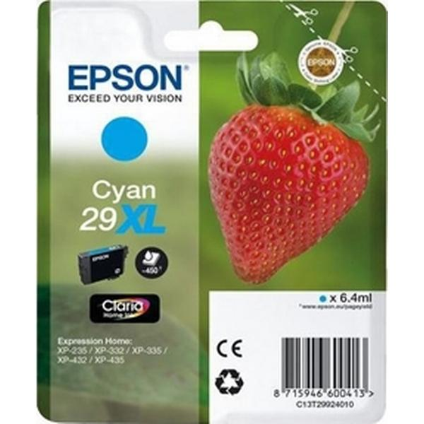 Epson (C13T29924010) Original Bläckpatron Cyan 6.4 ml