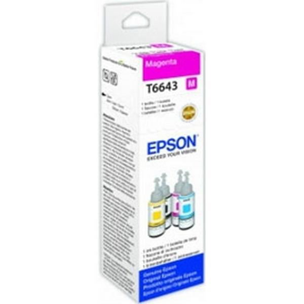 Epson (C13T664340) Original Bläckpatron Magenta 70 ml 6500 Sidor