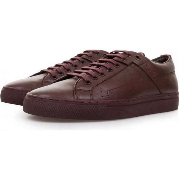 39689 Hugo Boss Futesio Shoe Dark Red Leather Shoe Futesio 50238501 b6a33e