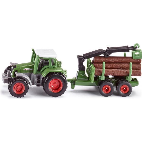 Siku Traktor med Forestry Trailer 1645