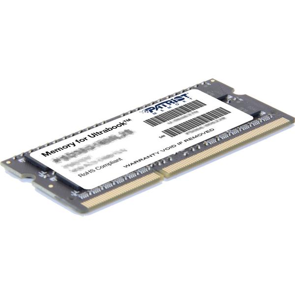 Patriot Ultrabook DDR3 1600MHz 8GB (PSD38G1600L2S)