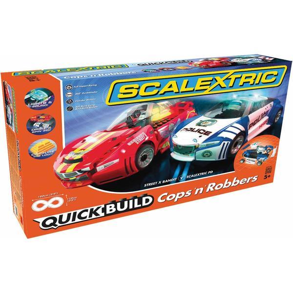 Scalextric Quick Build Cops 'n' Robbers Set C1323