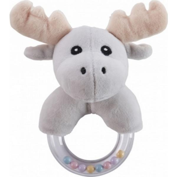 Kids Concept Moose Character Teething Rattle