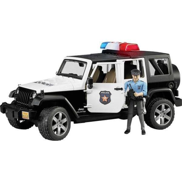 Bruder Jeep Wrangler Unlimited Rubicon Police Vehicle with Policeman & Accessories 02526