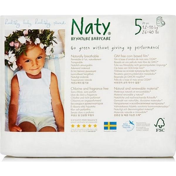 Naty Eco Pull on Pants Size 5 Junior
